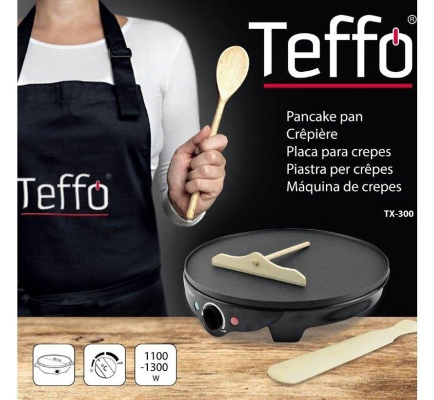 Elektrische Pannenkoekenpan I Teffo - Anti-aanbaklaag