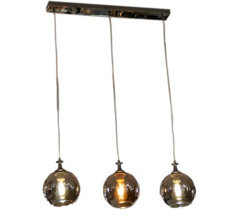 L&M Hanglamp Smoky -3 lichts