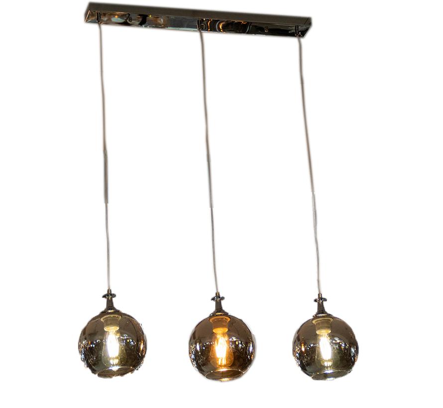 Hanglamp Smoky -3 lichts