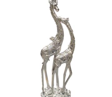 L&M Giraffe zilver