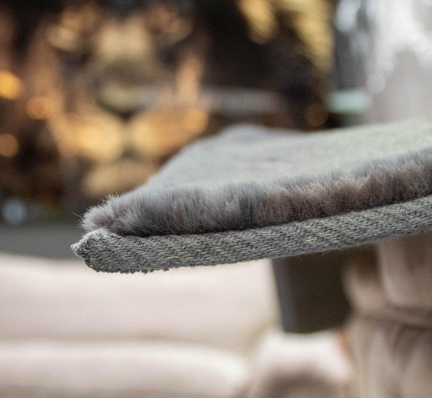 Hoogpolig Vloerkleed  Grey