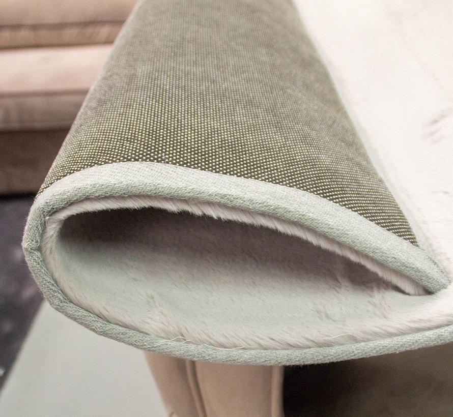Hoogpolig Vloerkleed- Licht Grey