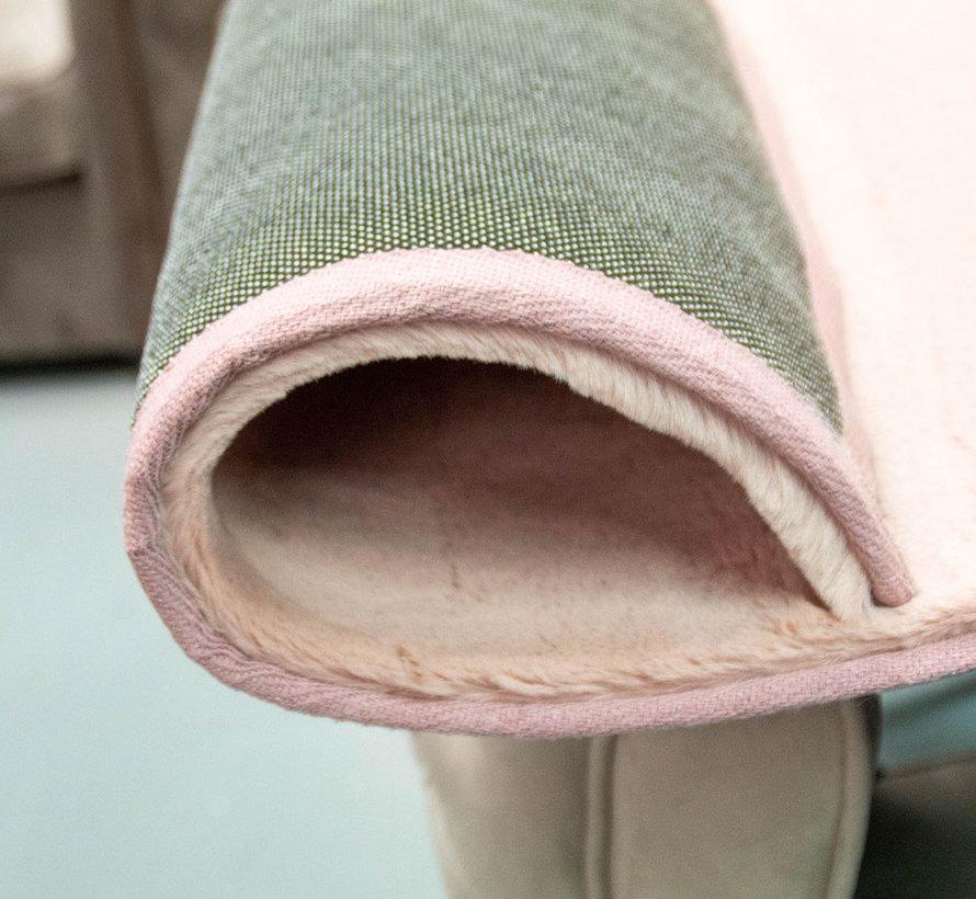 Hoogpolig Vloerkleed Pink
