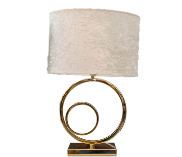 L&M Staande lamp - Double Circular Gold