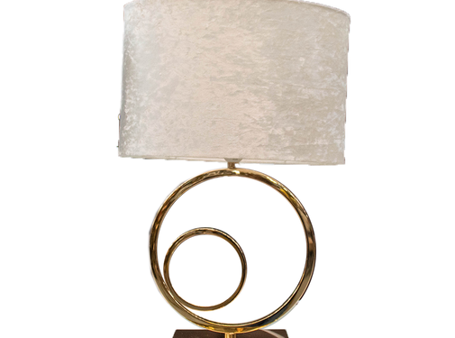 L&M Staande lamp - Double Circular Gold