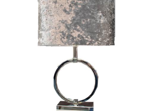 L&M Staande lamp - Circular Zilver