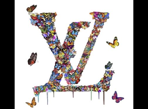 Ter Halle Glasschilderij-LOUIS VUITTON