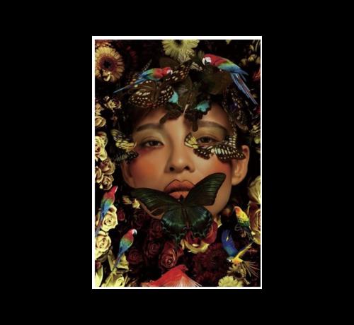 Ter Halle Glasschilderij-Love Animaals-80x1