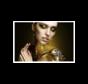 Glasschilderij-Golden Women 80x120