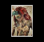Ter Halle Glasschilderij-Buterfly-110x160cm