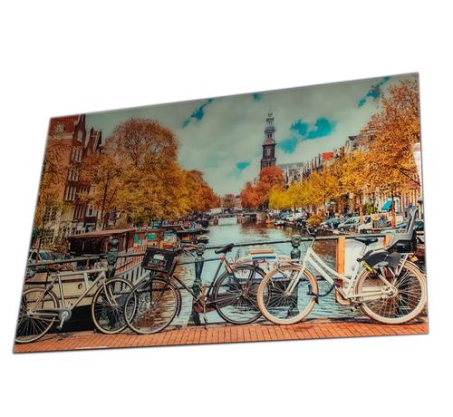 L&M Amsterdam - Art Glasschilderij