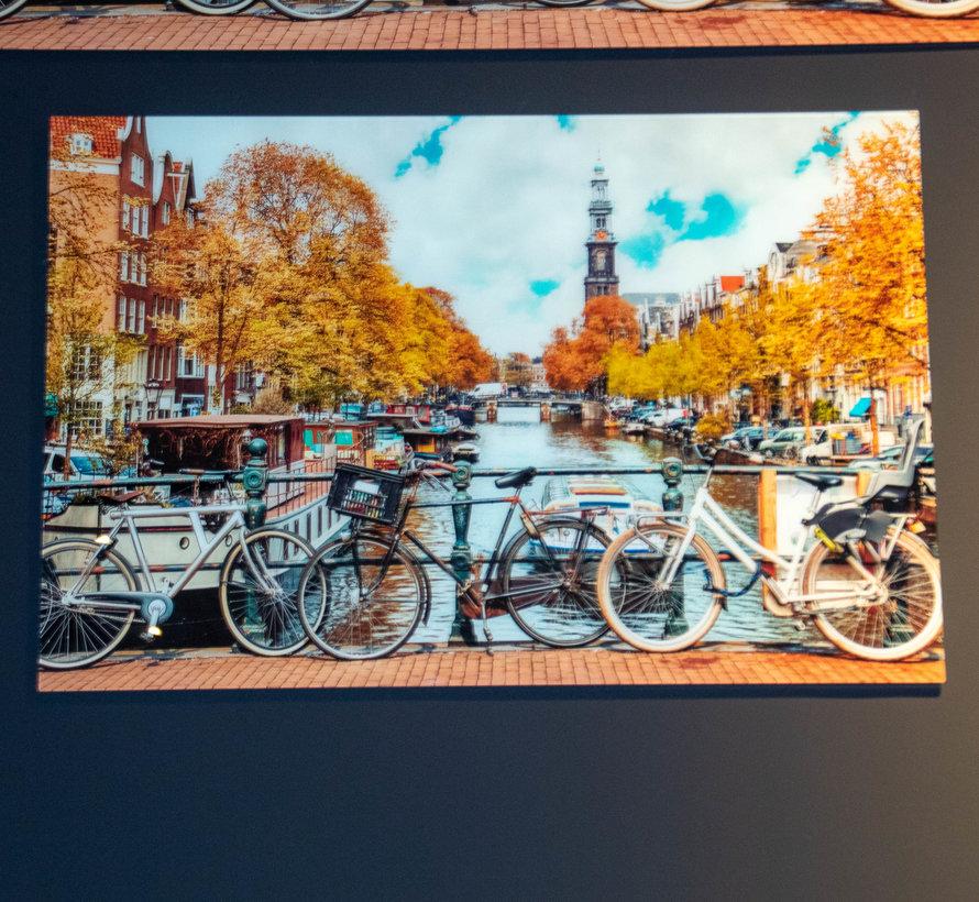 Amsterdam - Art Glasschilderij