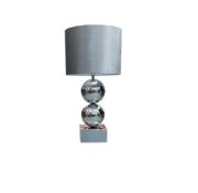 Erik Kuster Style Bollamp - Zilver - Tafellamp - 2 Bollen