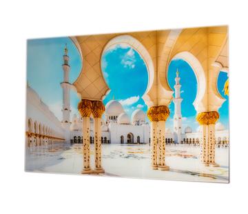 L&M Abu Dhabi - Art Glasschilderij
