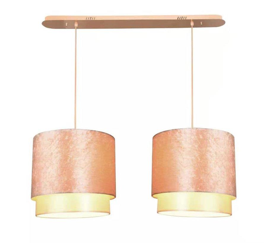 Hanglamp Goud Dubbel