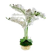 L&M Kunstorchidee - Pot - Wit - Phalaenopsis