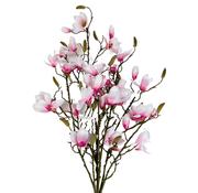 L&M Magnolia XXL Kunsttak - Wit/Roze