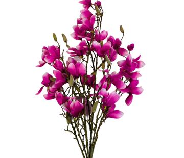 L&M Magnolia XXL Kunsttak - Roze/Paars