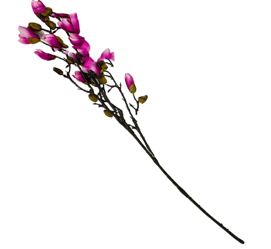 Magnolia Kunsttak - Roze/Paars