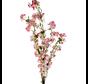 Bloesem kunsttak XL Wit Roze 110 cm