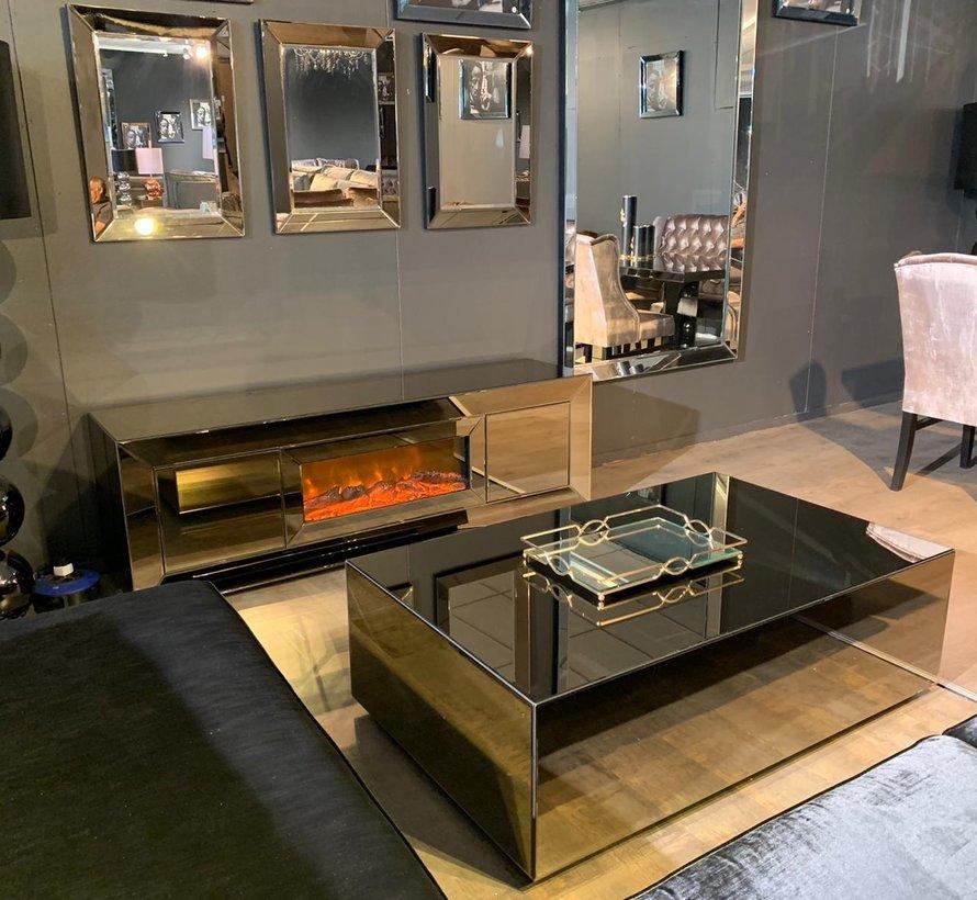 Abu Dhabi Woonkamer Set - Sepia/Antraciet