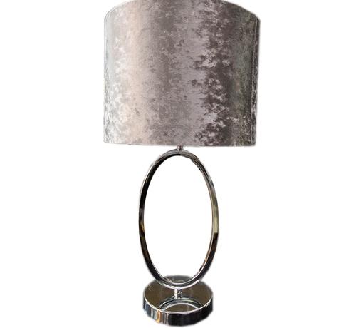 Eric Kuster Stijl Morro lamp - Rond Silver
