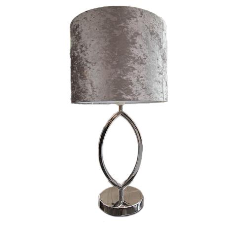 Eric Kuster Stijl Morro lamp - Ovaal Zilver