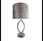 Morro lamp - Ovaal Zilver
