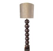 Eric Kuster Style Zwarte 7 Bollamp Met Zilvere Croco Kap