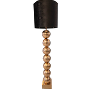 Eric Kuster Style Brons 7 Bollamp Met Zwarte Croco Kap