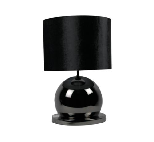 Eric Kuster Style Bollamp - Antraciet - Tafellamp - 1 Bol - Ronde Voet - Set van 2