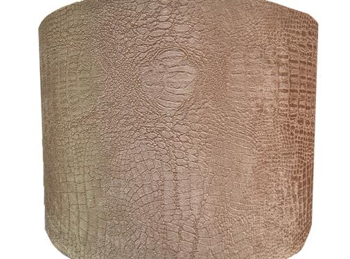 Eric Kuster Style Kleine Bruine Croco Lampen Kap