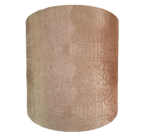 Eric Kuster Style Grote Bruine Croco Lampen Kap