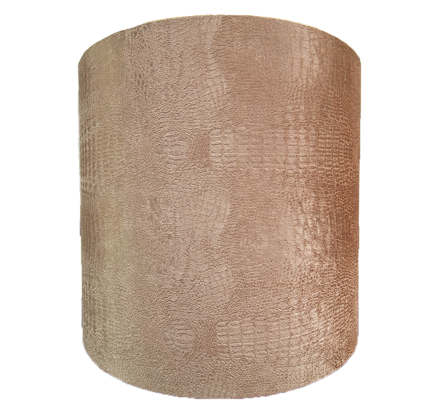 Grote Bruine Croco Lampen Kap