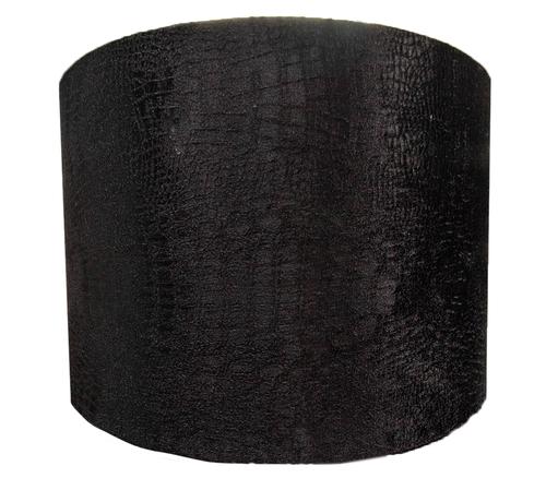 L&M Medium Zwarte Croco Lampen Kap
