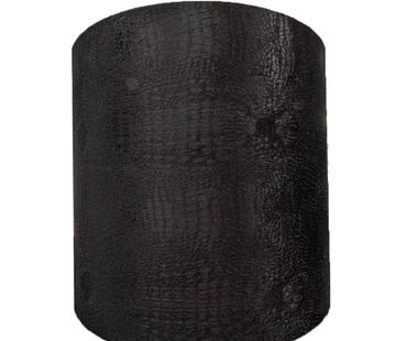 Eric Kuster Style Grote Zwarte Croco Lampen Kap