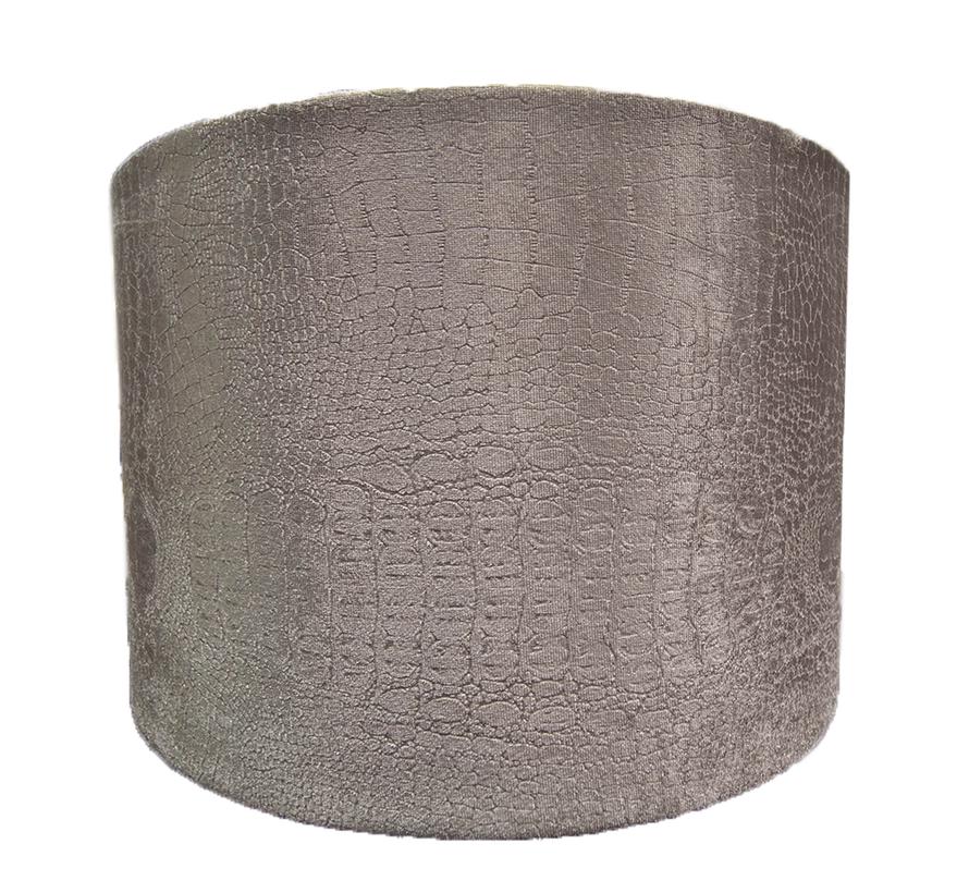 Kleine Zilvere Croco Lampen Kap