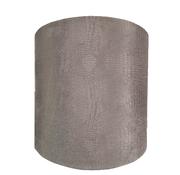 Eric Kuster Style Grote Zilvere Croco Lampen Kap