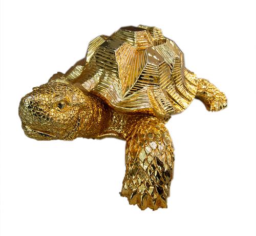 Eric Kuster Style Schildpad - goud