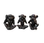 Eric Kuster Style aapjes - zwart