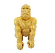 Eric Kuster Style Gorilla klein - goud