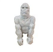 Eric Kuster Style Gorilla klein - zilver