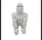 Gorilla klein - zilver
