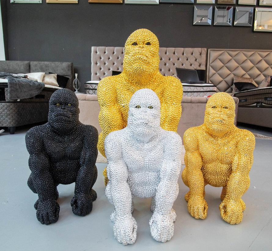 Gorilla groot - goud