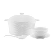 Bricard porcelain Celine Soep Serveerset 15-Delig