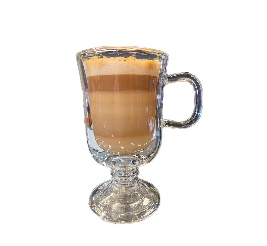 Dubbelwandige Glazen Café Latte Glas - 2 stuks