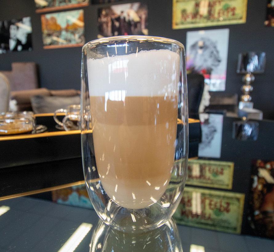 Dubbelwandige Glazen Beker - 2 Stuks