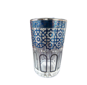 Theeglazen Marrakech - 12 stuks - Blauw