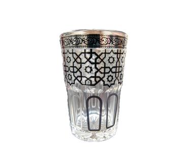 Theeglazen Marrakech - 12 stuks - Zwart