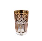 Theeglazen Marrakech - 12 stuks - Goud